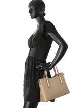 Top Handle Palma Leather Milano Brown palma PA15116-vue-porte