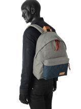 Backpack Eastpak Gray K620QU-vue-porte