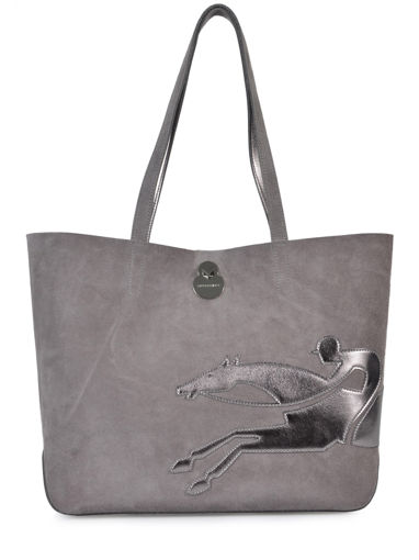 Longchamp Handbag Gray
