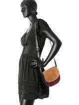 Shoulder Bag Jolo Pieces Red jolo 17083229-vue-porte