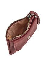 Purse Leather Nat et nin Red vintage TOMMY-vue-porte
