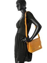 Crossbody Bag Nat et nin Yellow vintage MADELEN-vue-porte
