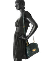 Crossbody Bag Nat et nin Green vintage MARYLIN-vue-porte