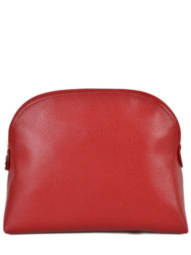 Longchamp LE FOULONNÉ BICOLORE Trousse de toilette Rouge