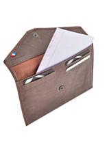 Wallet Etrier Brown blanco 600054-vue-porte