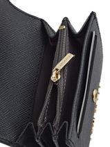 Purse Leather Lancaster Black adeline 127-01-vue-porte