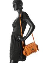 Crossbody Bag Pieces Brown totally royal 17082837-vue-porte