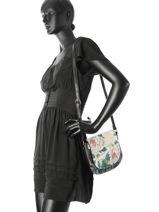 Crossbody Bag Desigual Black troya 17WAXPHN-vue-porte