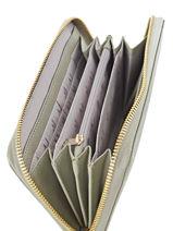 Portefeuille Armani jeans Gris eco saffiano multico 32-CC857-vue-porte