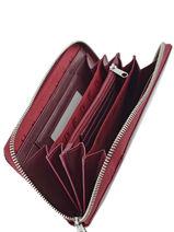 Wallet Armani jeans Violet vernice lucida 5V32-55-vue-porte