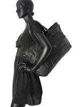 Shopper Totally Royal Leather Totally Royal Pieces Black totally royal 17055349-vue-porte