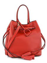 Purse Kyo Leather Etrier Red kyo EKY604