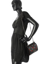 Crossbody Bag Coach Black drifter 59524-vue-porte