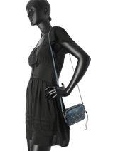 Crossbody Bag Coach Gray casual 59452-vue-porte