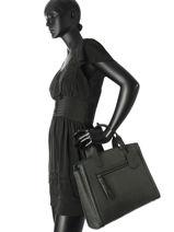 Top Handle A4 Burkely Black be beauty 532366-vue-porte