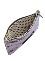 Clutch Mila louise Gray sequin 16963Q-vue-porte