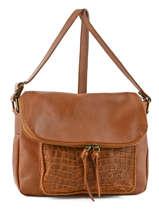 Crossbody Bag Milano Brown river 1007RI