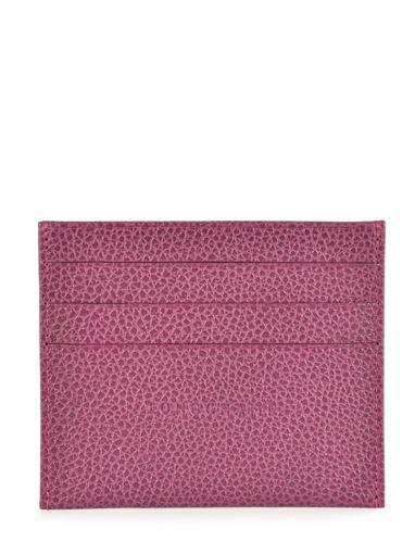 Longchamp Le foulonné Bill case / card case Violet
