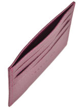 Longchamp Le foulonné Bill case / card case Violet-vue-porte