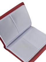 Porte-cartes Etrier Rouge blanco 600023-vue-porte