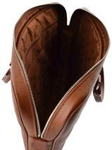 Longchamp Serviette Marron-vue-porte