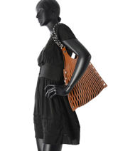 Shoulder Bag Sonia rykiel Brown baltard 9255-84-vue-porte