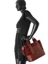 Top Handle Sonia rykiel Red toujours 8220-35-vue-porte