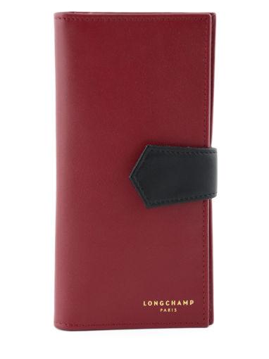 Longchamp Longchamp 2.0 Portefeuille Rouge