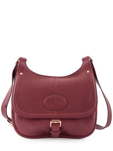 Longchamp Mystery Messenger bag Red