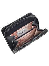 Portefeuille Nica Noir accessoires NS9607-vue-porte