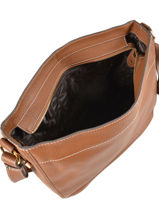 Crossbody Bag Romy Leather Mac douglas Brown romy FIRROM-L-vue-porte