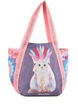 Shoulder Bag A4 Jasmine Apache Teo jasmin Brown jasmine apache JAS619AP