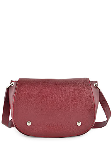 Longchamp Besace Rouge