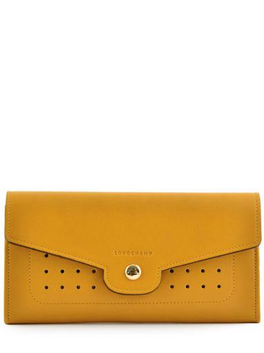 Longchamp Portefeuille Jaune