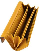 Longchamp Wallet Yellow-vue-porte