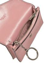 Porte-cartes Cuir Coach Rose wallet 55749-vue-porte