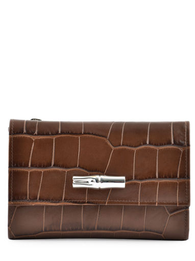 Longchamp Wallet Brown