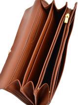 Longchamp Mlle longchamp Portefeuilles Marron-vue-porte
