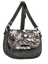 Crossbody Bag Black And White Lulu castagnette Black black and white HYACINTH