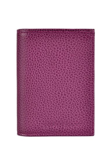 Longchamp Le foulonné Porte billets/cartes Violet