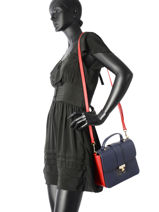 Crossbody Bag Tommy hilfiger Blue th heritage tote AW04301-vue-porte
