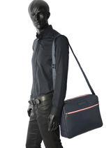Crossbody Bag Tommy hilfiger Blue essentiel AM02695-vue-porte