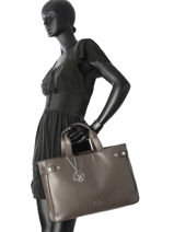 Shopping Bag Trapundato Armani jeans Brown trapundato 91-7A799-vue-porte
