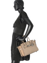 Top Handle Swagger 27 Leather Coach Gray swagger 12117-vue-porte