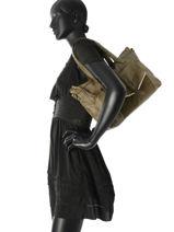 Shoulder Bag Ranity Leather Pieces Green ranity 17085167-vue-porte