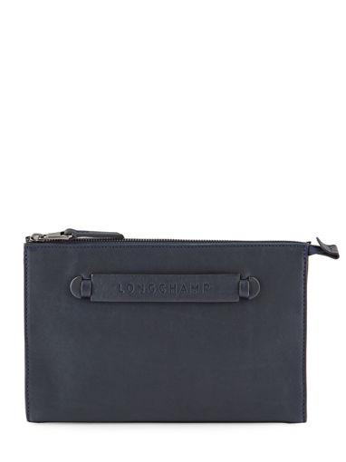 Longchamp Etui ipod/cd Bleu