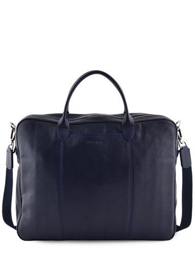 Longchamp Parisis Briefcase Blue