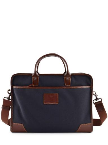 Longchamp S@fari sur Seine Serviette Bleu