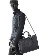 Longchamp Longchamp 3d Briefcase Black-vue-porte