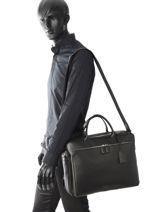 Longchamp Briefcase Black-vue-porte
